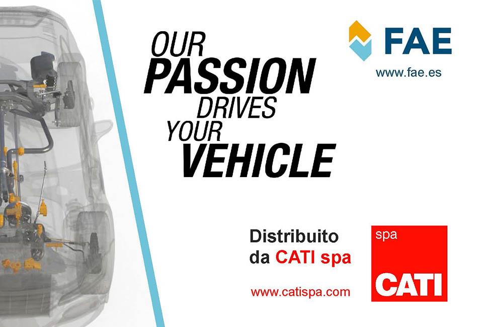 CATI spa distribuisce componenti elettrici ed elettronici a marchio FAE
